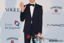 Lee Hyun-Woo arrives for the APAN star road during the 18th Busan International Film Festival on October 4, 2013 in Busan, South Korea.