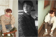 Park Kyung of Block B is in a Vintage Winter fashion.