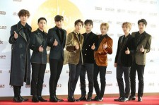 EXO at 'Golden Disk Awards' Day 2 Red Carpet