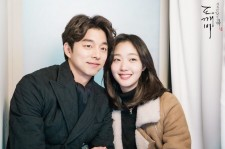 Gong-Yoo and Kim Go-Eun in the photoshoot session for