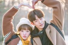 "Nam Joo-Hyuk and his co-star Lee Sung-Kyung in the drama ""Weightlifting Fairy Kim Bok-Joo."""