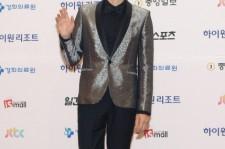 Actor Song Joong-Ki arrives for the 49th Paeksang Arts Awards on May 9, 2013 in Seoul, South Korea.