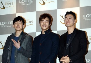 Wonder Girls Sunye's Wedding Guests: JJ Project and San E