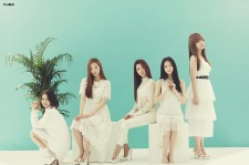 One of CLC pictures in Cube Entertainment.