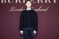 Seo-Jun Park attends the 'The Tale of Thomas Burberry' at the Burberry Seoul Flagship store on November 29, 2016 in Seoul, South Korea.