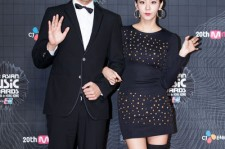 UEE and Lee Sang Yoon at MAMA Red Carpet