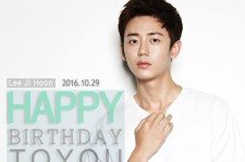 Lee Ji Hoon's picture at KEYEAST official facebook for his birthday.