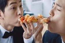 Song Joong Ki & Park Bo Gum 2016 Domino's Pizza CF