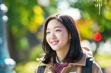 Kim Go Eun strikes a pose as Ji Eun Tak for tvN drama 'Goblin'.