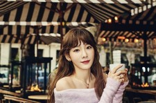 Girls' Generation's Taeyeon strikes a pose for Beauty +.