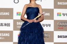 Actress Ko A-Ra attends the 33rd Blue Dragon Film Awards at Sejong center on November 30, 2012 in Seoul, South Korea.