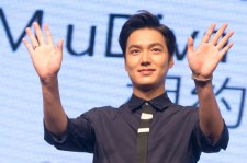Lee Min-Ho attends a press conference for a commercial event on September 11, 2014 in Taipei, Taiwan.