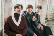 Actors Gong Yoo, Yook Sunjae and Lee Dong Wook