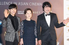 Siwan with Kim Young Ae and Song Kang Ho