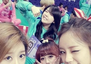 girls day group picture from idol star athlete championship