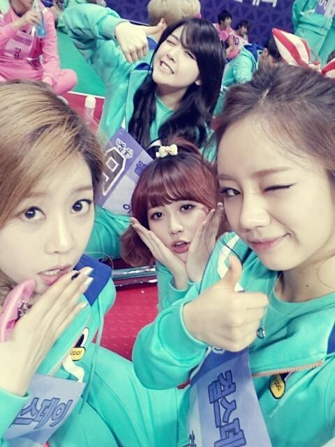 girls day group picture from idol star athlete championshipkey=>0 count1