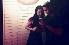 Sulli and Choiza