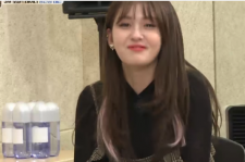 Somi cried when revealing her concern about her voice on
