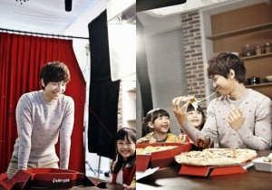 Lee Seung Gi Reveals Fatherly Smile, Photo Shoot with Children