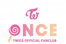 TWICE's fandom ONCE official logo finally revealed, showing a cute candy bong.