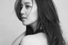 Moon Chae Won posed for