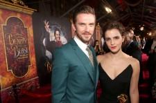 Dan Stevens and Emma Watson