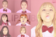 LIPBUBBLE is reported plagiarizing TWICE concept.