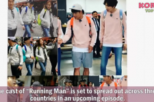 'Running Man' Ep 347 filming with New Members accross 3 Countries