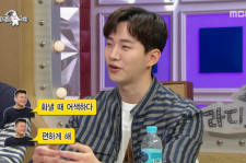 Junho talked about JYP giving him atcing tips on