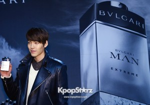 'BVLGARI' MAN Perfume Launching Event: Kim Woo Bin