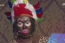 Hong Hyun Hee's controversy for her blackface comedy on SBS's