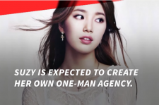 Suzy is expected to have her own agency.