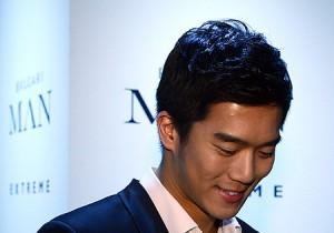 'BVLGARI' MAN Perfume Launching Event: Ha Suk Jin