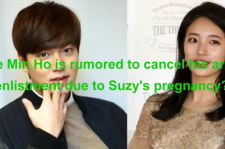 Lee Min Ho is rumored to quit army duty for accompanying Suzy in her pregnancy.