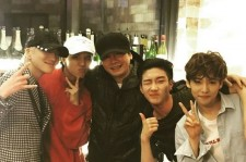 Yang Hyun Suk With Winner
