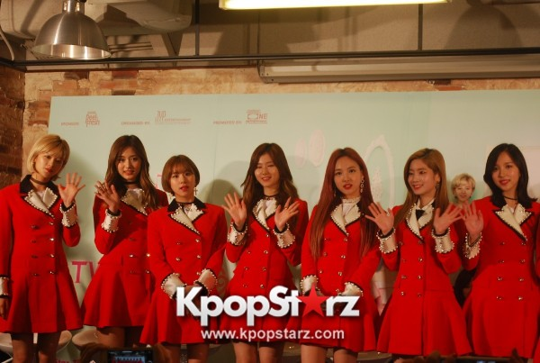TWICE Meets Singapore Media, Happy And Excited For Their First TWICELAND in Singapore [PHOTOS]key=>23 count26