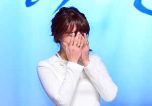Jung Eun Ji at SBS 'That Winter, The Wind Blows' Press Conference