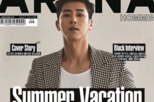 Yunho is looking hot and sexy for the cover of Arena Homme Plus magazine June issue.