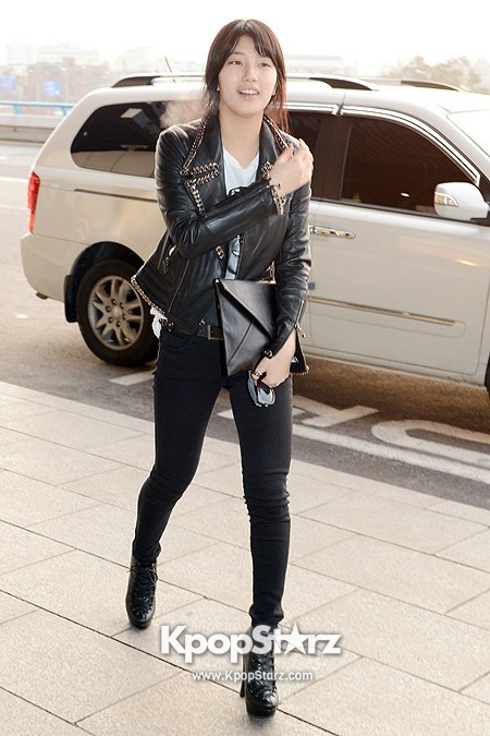 Suzy Leaving for Drama ' Big' Promotions in Japankey=>2 count21