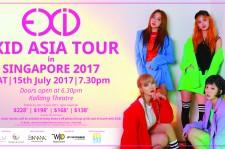 EXID Asia Tour In Singapore 2017