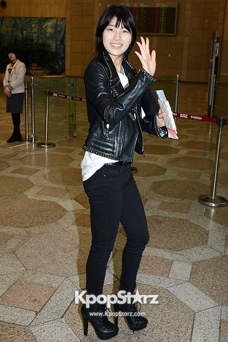 Suzy Leaving for Drama ' Big' Promotions in Japankey=>18 count21