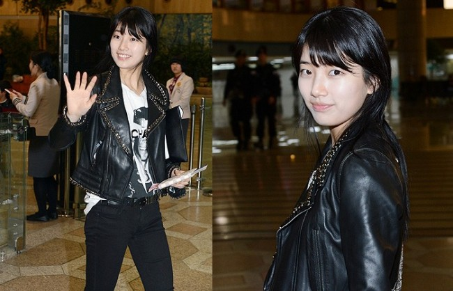 Suzy Leaving for Drama ' Big' Promotions in Japankey=>0 count21