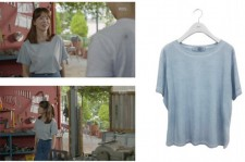 Actress Song Hye- kyo is wearing Siero's shirt on set