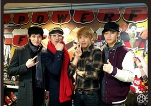 kim chang ryeol with cnblue