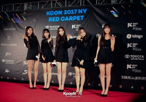 KCON 17 NY Red Carpet