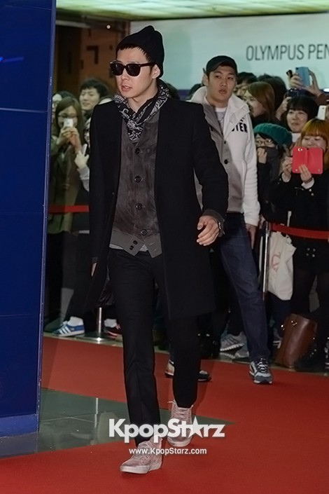 Park Yoo Chun Walks the Red Carpet Looking Hip at the 'Man Manual' VIP Premierekey=>10 count13