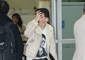 Airport Fashion: Suzy Returns to Korea Concluding Movie 'Big' Promotion in Youthful Fashion