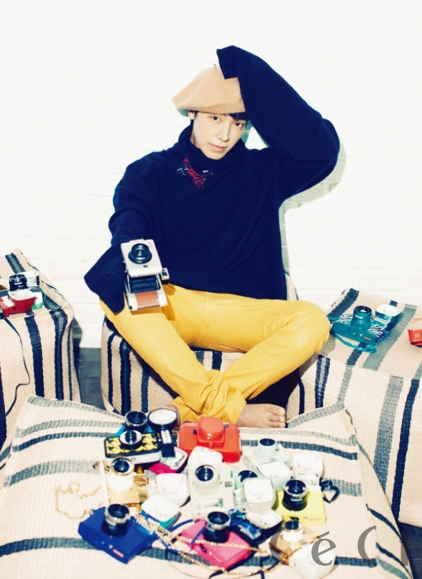 Dong Hae's Amazingly Handsome CeCi Magazine Shoot key=>6 count10