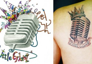 Huh Gak's Jacket Cover Revealed to be an Image of his Tattoo