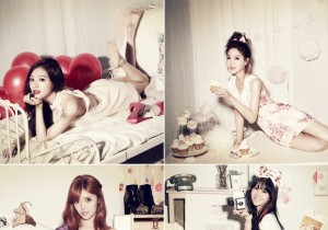 Rainbow Pre-Releases Album Images of 4 Members, 'Sweet Girls' Transformation